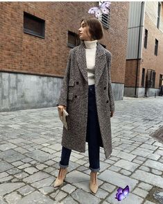 casual outfit ideas for women  <br> Winter Trends, Fall Fashion Trends, Fashion Ideas, Mode Outfits, Trendy Outfits, Fashion Outfits, Womens Fashion, Fashion Fashion, Fashion Clothes