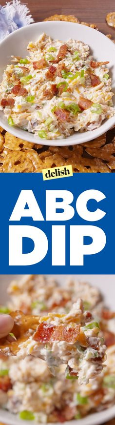 ABC Dip Is Easy As 1,2,3 Delish