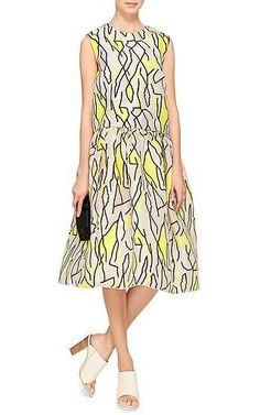 Ellery - M'O Exclusive: Meridian Printed Silk Dress