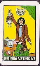 Wonderland Tarot The Magician