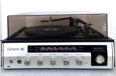 Vintage Turntable Record Player Stereophonic Realistic Clarinette 44 AM/FM Radio #Realistic