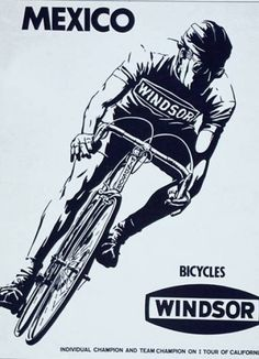 poster of the day - #WindsorBikes