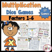 Multiplication Games and a freebie on how to solve.