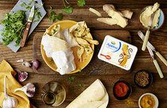 Tortilla z Kurczakiem z Apetiną India