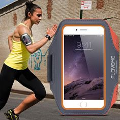 Floveme universele sport arm band case voor iphone 6 6 s 7 voor iphone 7 6 plus running fitness telefoon arm band accessoires Cover