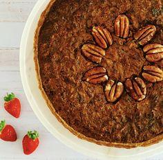 Pecan Nut Pie - My Homemade Kitchen Pecan Nuts, Vanilla Ice Cream, Browning, Quick Bread, Baking Recipes, Almond, Berries, Goodies, Butter