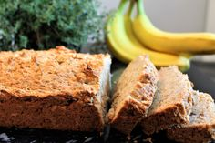Gluten Free Vegan Banana Bread is a simple easy recipe that bakes up perfect every time. It is gluten free, vegan and can be made soy free too.The best way to use up old bananas!