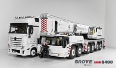 hello everyone, This is my Final project : Grove GMK 6400 with ties, Because my family and personal problems, So I had stopped to create Lego MOC for a long long long time. So I hope my final project you like. Lego Truck, Toy Trucks, Lego Moc, Lego Technic, Lego Unimog, Lego Crane, Vw Bus, Auto Union 1000, Wiking Autos