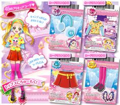 Doki Doki Anime, Glitter Force, Pretty Cure, Magical Girl, Trading Cards, The Cure, Kawaii, Stars, Collector Cards