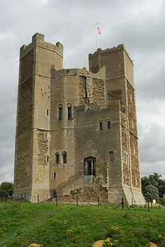 Orford Castle, Suffolk, England-We used to visit Orford castle on the weekends!  Playing in a castle is the best!