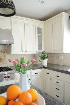 how to paint oak cabinets drab to fab powerofpaint, kitchen cabinets, painting, woodworking projects, You will be thrilled with the results promise
