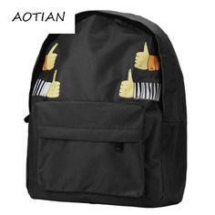 ede3875e6555 Wholesale women shoulder bag Double-Shoulder Thumb canvas cute school  backpacks teenage girls mochila feminina