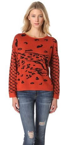 MINKPINK Once a Cheetah Sweater, $44