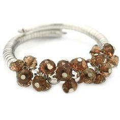 Debs Jewelry Shop - Paparazzi Bracelet - Brown Gems, $5.00 (http://www.debsjewelryshop.com/paparazzi-bracelet-brown-gems/)