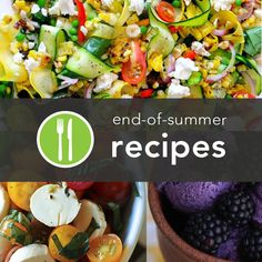 5 Healthy End-of-Summer Recipes http://greatist.com/health/best-recipes-091712