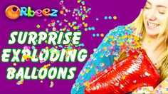 Orbeez SURPRISE BALLOONS! | Official Orbeez
