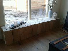 Verwarming ombouw. Gemaakt van steiger hout!