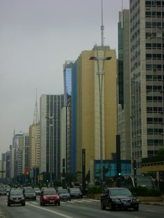 Avenida Paulista, Sao Paulo - Brazil