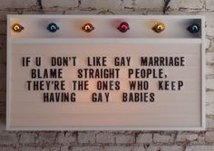 <3 Support Gay Rights!
