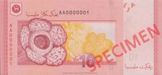 Malaysia's lush tropical jungle, which is one of the world's oldest living rainforest, is home to a spectacular variety of flowering plants. Most iconic amongst them is the Rafflesia, the world's largest flower.  Find our more at http://www.bnm.gov.my/microsites/2011/banknotes/index.htm