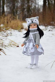 Полярная лисичка / Одежда и обувь для кукол своими руками / Бэйбики. Куклы фото. Одежда для кукол