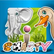 15 friendly, beautifully animated and professionally voiced animals kindly toy with children in the game.  The child is offered to help mother to find her pup and bring it to her, and the child must choose one of three great animals. As a reward and praise, the child receives a sticker with a picture of helped animal.
