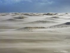 A stormy day on the beach at the island of Amrum, Germany