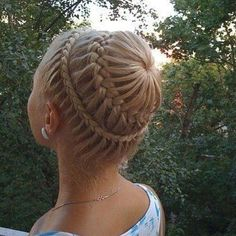 Braided Hair Design