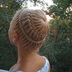 Braided Hair Design
