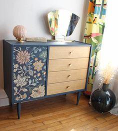 Redo Furniture, Refurbished Furniture, Furniture Hacks, Diy Home Decor, Recycled Furniture, Furniture Rehab, Furniture Makeover, Retro Furniture Makeover, Retro Furniture
