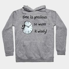 Time Quotes, Hoodies, Sweatshirts, Aesthetic Clothes, Vintage Outfits, Clock, Sweaters, Fashion, Watch