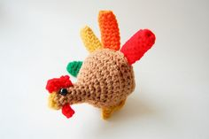 Crochet Cute turkey - free pattern