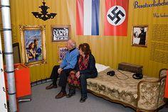 """Tentoonstelling """"Liefde in oorlogstijd"""", Nationaal Bevrijdingsmuseum 1944-1945, Groesbeek."""