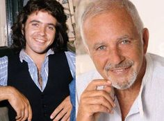 David Essex then and now.what do you think Ladies? I think he still looks lovely Andrea Ward, Essex Boys, David Essex, Celebrities Then And Now, Male Celebrities, Celebs, Lovely Eyes, Kids Tv, Reasons To Smile