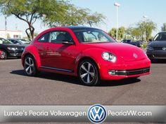 2013 Volkswagen Beetle Turbo PZEV - Lunde's Peoria Volkswagen