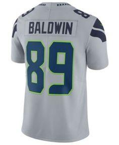 Nike Men's Doug Baldwin Seattle Seahawks Vapor Untouchable Limited Jersey - Gray XXL
