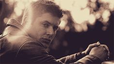 Who doesn't need a *gif* of Jensen Ackles looking serious?