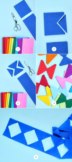 DIY Giant Geometric Streamers | Julep