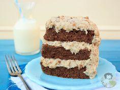 German Chocolate Cake Frosting Recipe - Paleo, dairy-free