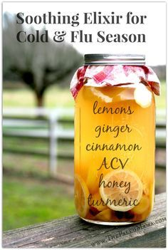 Soothing Elixir for Cold & Flu Season www.thepaleomama.com