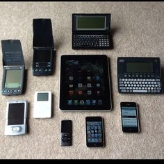 A life in gadgets.