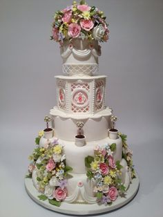 Wedding cake by sophisticakes.