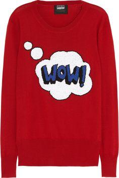 Markus Lupfer|Wow! French knot merino wool sweater|NET-A-PORTER.COM