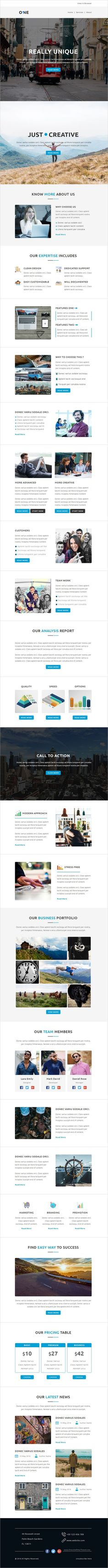 Cold - Multipurpose Responsive Email Template + Stampready Builder ...