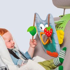 Musical Car Toy - Owl, Include a Remote Control for Parents Use. Keeps Both Baby and Parent Calm and Happy While in Car. Travel Toys, Travel Baby Toys -- See this awesome image @