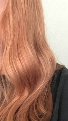 How I got my Strawberry blonde color:  1 oz. Wella Color Charm 8RG Titian Red Blonde + 1 oz. 9NG Sand Blonde + 4 oz. Ion Sensitive Scalp 10 Volume Developer . Hair started as a level 8 blonde with partial highlights