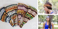 Aztec Inspired Head Wraps! | Jane
