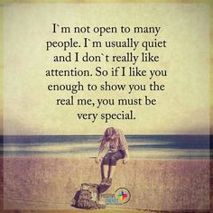 Im not open to many