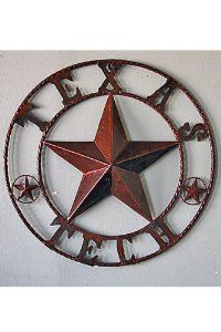 This Texas Tech metal star is the perfect decoration for any home!