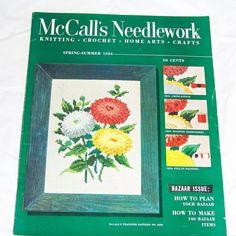 Vintage 1950s McCalls Needlework Magazine Spring Summer by Revvie1, $12.00